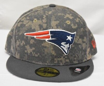 NEW ERA 59FIFTY Mens NFL New England Patriots Fitted Hat Cap NWT 7 1 ... 36264b128
