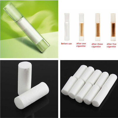 500 X 8MM Cigarette Cotton Sponge Head Filter Tips for Smoking Rolling Paper
