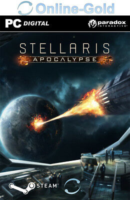 Stellaris: Apocalypse DLC Key Steam PC Simulation - Digital code [DE/EU][Addon]
