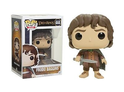 Funko Pop Movies: The Lord of the Rings - Frodo Baggins Vinyl Figure Item #13551