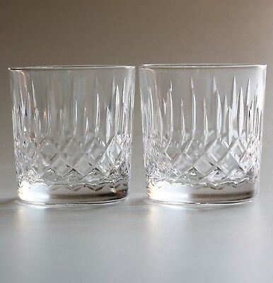 Edinburgh Crystal Appin, 2 X  Whisky Glasses.