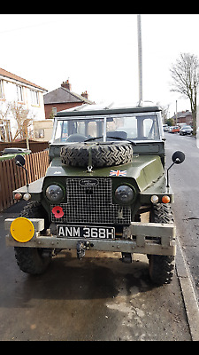 Land Rover Lightweight 2a Rover 1. Galvernised Chassis. #448