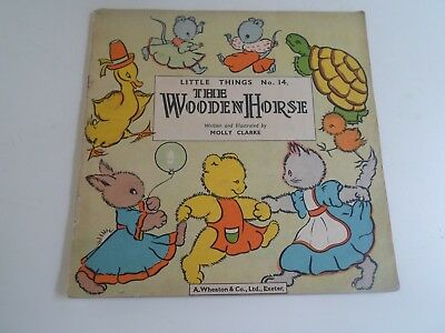 THE WOODEN HORSE Little Things No 14 Written+Illustrated by Molly Clarke-Vintage