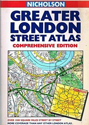 Greater London Street Atlas: Comprehensive Edition by Unknown Paperback Book The
