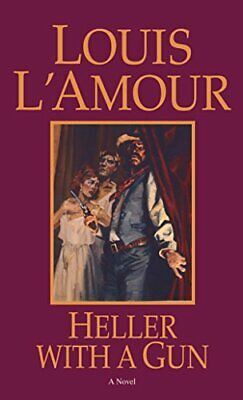 Heller with a Gun by Louis L'Amour Paperback Book The Cheap Fast Free Post