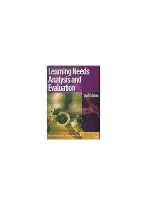 Learning Needs Analysis and Evaluation (UK Professio... by Bee, Roland Paperback