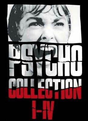 Psycho Collection Box 1-4 (5 DVDs) - Universal 8211233 - (DVD Video / Thriller)