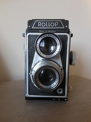 Vintage Lipca Rollop TLR German Camera Circa 1954