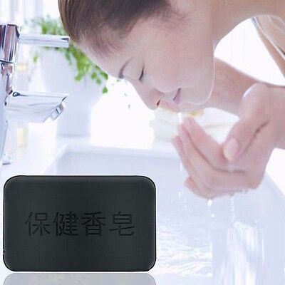 Handmade 1 piece Charcoal Cleansing Soap Bar Moisture Skin Soap-Care