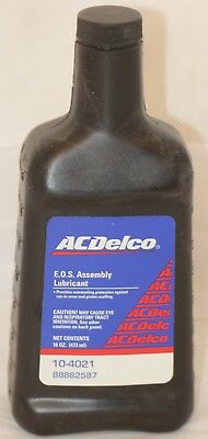 Lubricant EOS Assembly Run In Wear Piston GM 88862587 ACDelco 16 Oz  In Stock