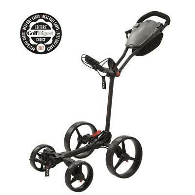 BIG MAX GOLF Lame QUATTRO plat pliable Chariot de golf (PHANTOM)