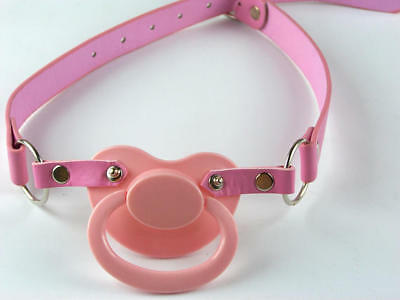 Adult  large pacifier holder PInk,