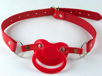 Adult  large pacifier holder RED,