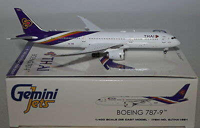 GEMINI JETS gjtha1691boeing 787-9 Thaï Airways International hs-twa en 1:400