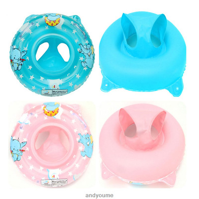 Inflatable Baby Kid Toddler Swimming Ring Seat Safety Aid Pool Water Float US