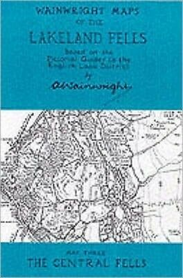 Wainwright Maps of the Lakeland Fells: The Central Fells Map 3 (M...