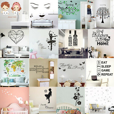 Removable Wall Stickers 3D DIY Photo Tree PVC all Decals Baby Kids Art Decor DIY
