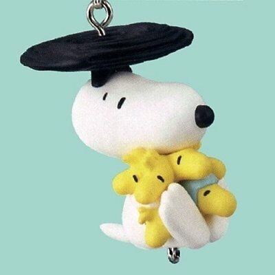 Takara Tomy Peanuts Snoopy Yurayura Connecting Mascot Helicopter Figure