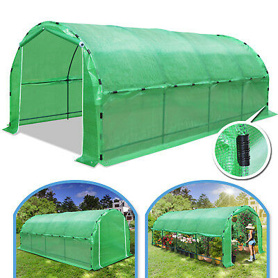 20'X10'X7'H Larger Walk-In Greenhouse Hot Green House Outdoor Plant Gardening