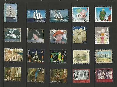 y4829 Bermuda /  A Small Collection  Early & Modern Used