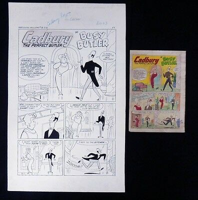 ESZ3012 RICHIE RICH MILLIONS #19 Sid Couchey & Frank Carin Complete 5 Page Story