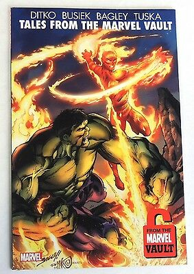 ESZ2131. Marvel Tales from the Marvel Vault Trade Paperback Graphic Novel (2011)