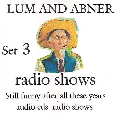 old time radio Lum and Abner 23 radio shows 4  audio cds set #3