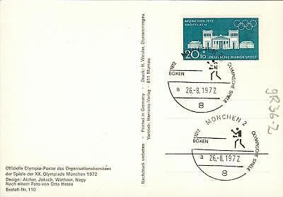 Germany rare MC Mk boxing Boxen olympics 1972 gr36