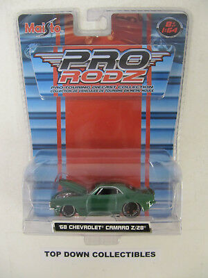 Maisto Pro Rodz Die Cast Touring Collection 1:64 '68 Chevrolet Camaro Z/28  NIB