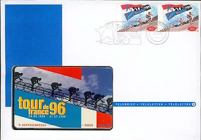 Netherlands phone card cover bicycle Fahrrad Tele hl39-2
