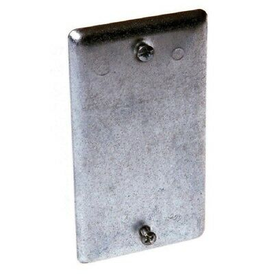 Raco (860) 1-Gang Rectangle Metal Electrical Box Cover - Lot of 20