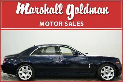 2012 Rolls-Royce Ghost  2012 Rolls Royce Ghost Midnight Sapphire with Seashell only 8,300 miles