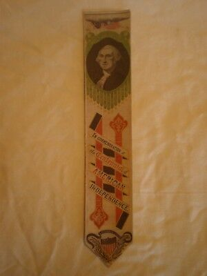 Commemoration Of The Centennial Of American Independence Reproduction Bookmark