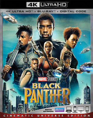 Black Panther [New 4K UHD Blu-ray] With Blu-Ray, 4K Mastering, Ac-3/Dolby Digi