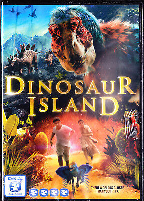 Dinosaur Island (DVD, Widescreen, 2015) New Sealed