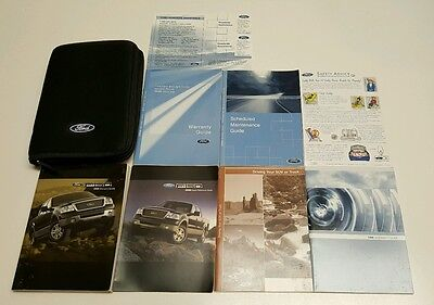 Ford F  Owners Manual Harley Davidson Lariat King Ranch Limited Xlt X