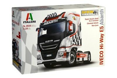 Italeri 3934 - 1/24 Iveco Hi-Way E5 Abarth - Neu