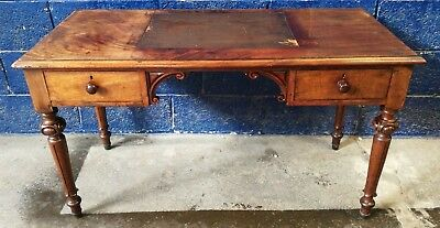 ~Stunning ~Fine ~Antique ~Edwardian? ~Desk~ Writing Desk ~Flame Mahogany~ VGC~
