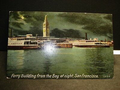 FERRY PIEDMONT, San Francisco, Calif Naval Cover unused post card