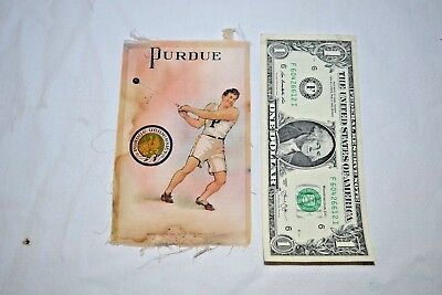 Vintage Murad Tobacco Silk Perdue Hammer Throw Thrower