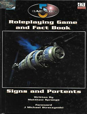 BABYLON 5 RPG - Roleplaying Game and Fact Book *RPG*