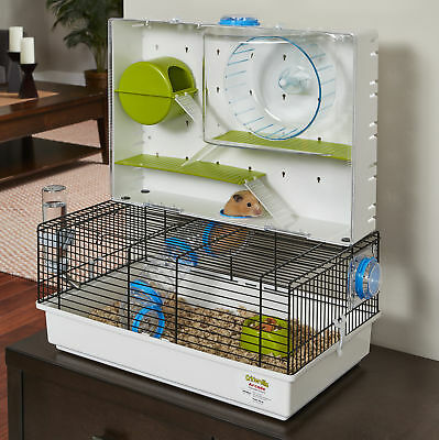 Midwest Homes For Pets Arcade Small Animal Cage with Wheel