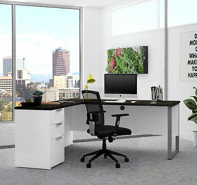 Latitude Run Hartleton Modern L Shape Corner Desk