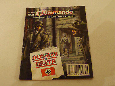 Commando War Comic Number 2930!!,1996 Issue,good For Age,21 Years Old,v Rare.
