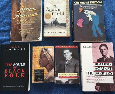 African American History Lot Of Seven Books