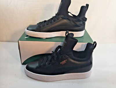 PUMA BASKET FIERCE EP Women s Sneakers Black Size 7 US 365480 02 BE ... 7cd334ed4