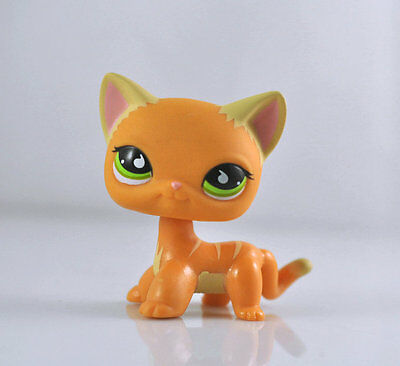 Pet Short Hair Cat Collection Child Girl Boy Figure Littlest Toy Loose LPS02