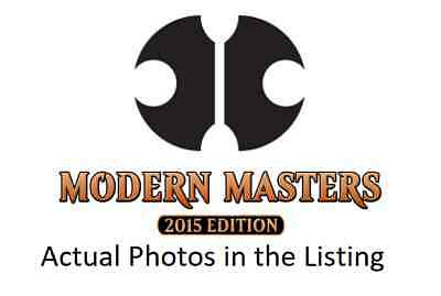 MTG Magic the Gathering Modern Masters 2015 Mixed Lot C/U/R's. Multi Listing