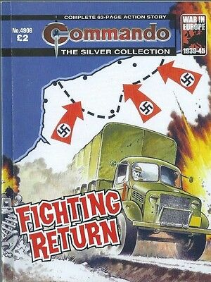 Fighting Return,commando The Silver Collection,no.4906,war Comic,2016