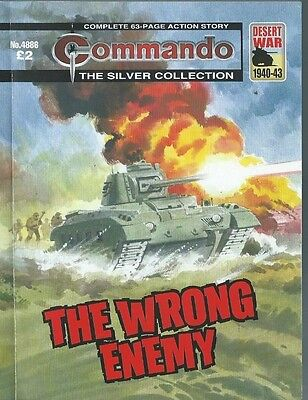 The Wrong Enemy,commando The Silver Collection,no.4886,war Comic,2016